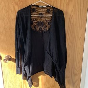 Bluenotes // Lace back cardigan